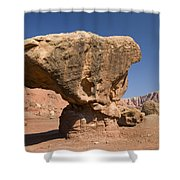 Lees Ferry Rock Formation Arizona Shower Curtain