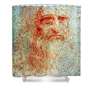 Leonardo Da Vinci (1452-1519) Shower Curtain