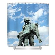 Liberation Monument Shower Curtain