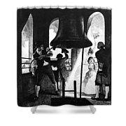 Liberty Bell, 1776 Shower Curtain