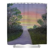 Light At The Other End Shower Curtain