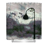 Light In The Sky Shower Curtain