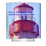 Lighthouse At Cape May Shower Curtain
