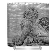 Lions Bridge East Lake Side Shower Curtain