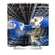 Lloyd's And Willis Group London Shower Curtain