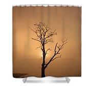 Loch Ard Glow Shower Curtain