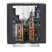 A Vision Of London's Skyline Shower Curtain