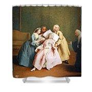 Longhi's The Stimulated Faint Shower Curtain