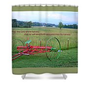 Lord Of The Harvest Shower Curtain
