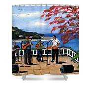 Los Musicos Shower Curtain