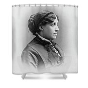 Louisa May Alcott (1832-1888) Shower Curtain