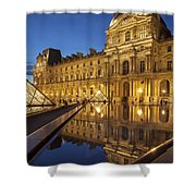 Louvre Reflections Shower Curtain by Brian Jannsen