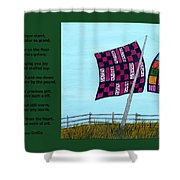Love Of A Quilt Shower Curtain