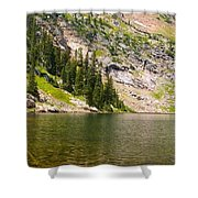 Lower Crater Lake Shower Curtain