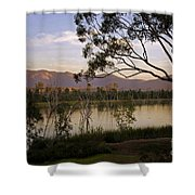 Lower Otay Lake - California Shower Curtain