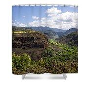 Lower Waimea Canyon Shower Curtain