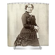Lucy Hayes (1831-1889) Shower Curtain