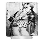 Luigi Lablache (1794-1858) Shower Curtain