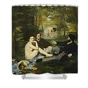 Luncheon On The Grass Shower Curtain