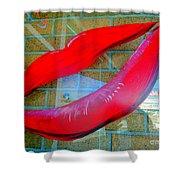 Luscious Lips Shower Curtain