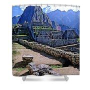 Machu Picchu Peru Shower Curtain