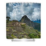Machu Picchu  Shower Curtain