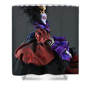Mad Queen Shower Curtain