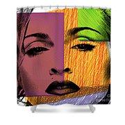 Madonna  Shower Curtain