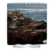 Maine Seascape Shower Curtain