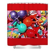 Maracas Shower Curtain