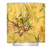Marble End Paper  Shower Curtain