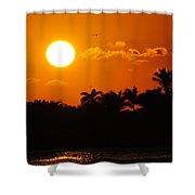 Marco Island Sunset Shower Curtain