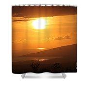 Maui Kulamalu Sunset Shower Curtain