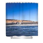 Mcnary Dam Shower Curtain