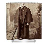 Men's Fashion, C1885 Shower Curtain