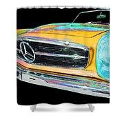 Mercedes Benz Shower Curtain