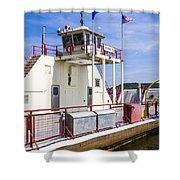 Merrimac Ferry - Wisconsin Shower Curtain