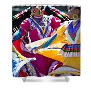 Mexican Folk Dancers Shower Curtain