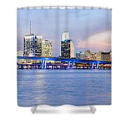Miami 2004 Shower Curtain by Patrick M Lynch