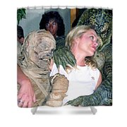 Michele Phillips 1987 Shower Curtain
