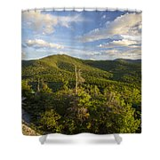 Middle Sugarloaf Mountain - Bethlehem Nh Usa Shower Curtain