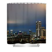 Midtown Atlanta Skyline At Dusk Shower Curtain