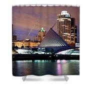 Milwaukee Art Museum Shower Curtain