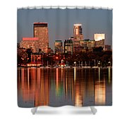 Minneapolis Skyline Shower Curtain