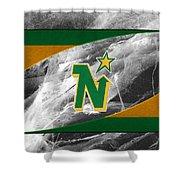 Minnesota North Stars Shower Curtain