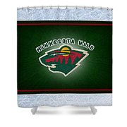 Minnesota Wild Shower Curtain