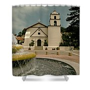 Mission San Buenaventura Shower Curtain