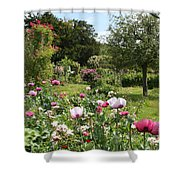 Monets Garden - Giverney - France Shower Curtain