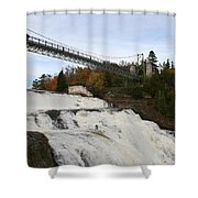 Montmorency Waterfall  Canada Shower Curtain
