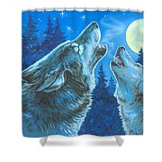 Moon Song Shower Curtain